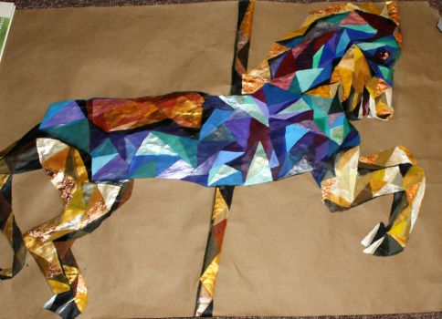 Geometric Horse by BriannaVee