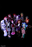 Monster High colection by xMorganaArTx