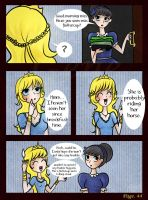 Diary of princess: page 44 by G3N3