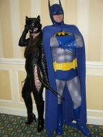 Harassing Batman by CatwomanofTheSouth