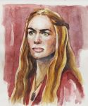 Cersei Lannister by ermitanyongpalits