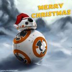 Christmas BB8 by yodaxy