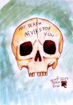 May death never stop you v2 by Psycho--killer