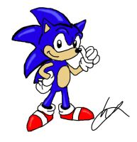 AOSTH style Sonic by sonicman88