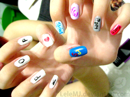 Nail Art: Kpop by LeleMJ