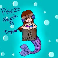 Pisces - Zodiac Contest Entry by CrystalTheTaco