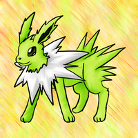 Shiny Jolteon by Lilith-Memorial