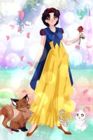 Snow White by ArtLover2192