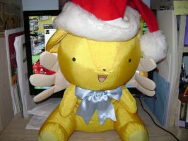 Merry Christmas from Kero-chan by cyberelf2029