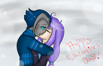 Winter smooches by stephaniescarlet