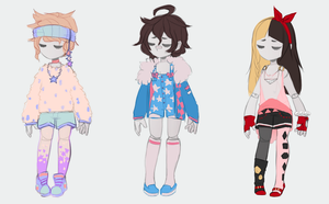 Clothes Custom 2 by twin-tail