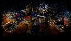 Awesome Optimus Prime by MollyDarkheart