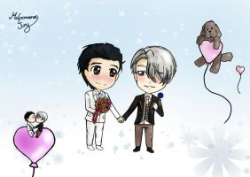 Wedding on ice by MelpomenesJuny