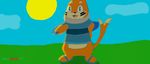 Darryl the Buizel! by DevilGator17