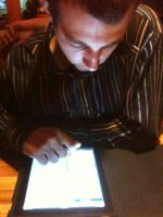 Me and my $929 iPad by pichu912