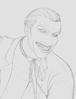 Joker WIP by daChaosKitty