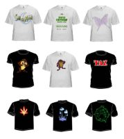 Designer T-shirts part 2 by NitroFieja