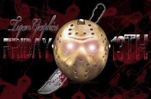 friday the 13th jason mask with bloody knife by mademyown