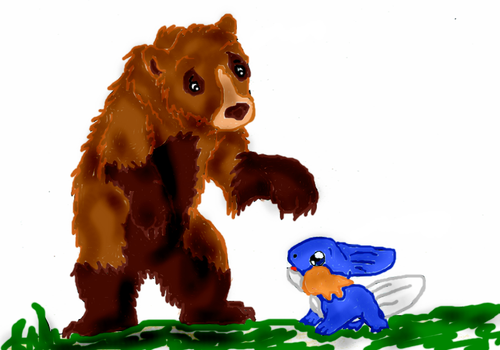 Beowulf means Bear by rosa-pegasus