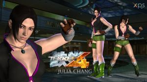 Julia Chang - Tekken 4 [2P] (XPS) Download. by Pedro-Croft
