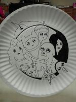 'Adventure Time' Plate by JunBowman
