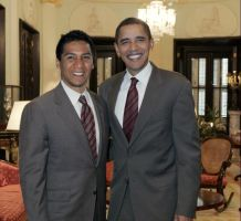 Obama and Me by Battory