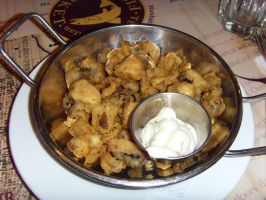 Fried Country Mushroom by Gexon