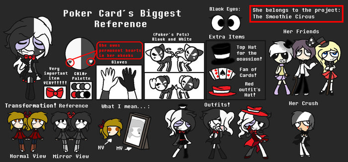 Poker Card s Reference by Evangeline-Love