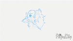 Head Cocking Alice - Sketch Animation! by Wolf-Chalk