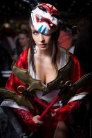 League of Legends Blood Moon Akali Cosplay by Beaupeep101
