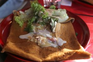 Crepe with cheese by patchow