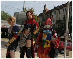 Final Fantasy Cosplay by nnaja
