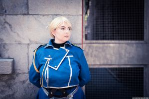 Riza Hawkeye by Eleventh Photography by DMinorDucesa