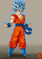 SsjgsS Goku by bloodsplach