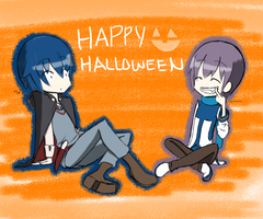 HALLOWEEN IS COMMIN'!! by aoito95