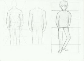 studie of the manga body by partybeast1