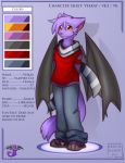 Character Sheet: Veekay by vampirekitty3