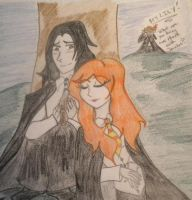 Severus and Lily by Miss-Whoa-Back-Off
