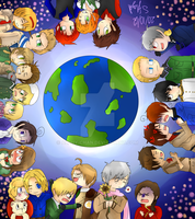 Draw A circle theres the Earth by Alphy-Chan