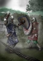 Duel in The Mist by Oouah