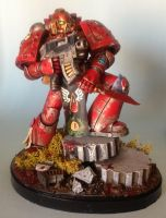 Blood Angels Space Marine by jasonkyle1980