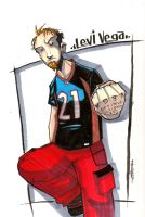 Commission - Levi Vega 2008 by JeremyTreece