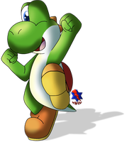 Just a Green Yoshi *Remastered* by AwsmYoshi
