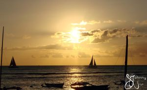 Sunsets and Sails by icarus-divinity