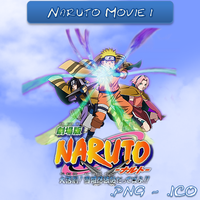 Naruto Movie 1 ICO And PNG by bryan1213