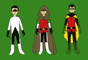 Robin Outfits: Damian by evilfuzzle2