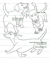 Doxie Lines for Kes by khiton