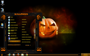 windows 7 themes halloween by tono3022