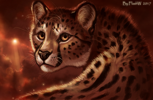 King cheetah by FlashW