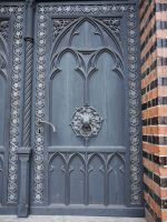 Medieval Door by Dragoroth-stock